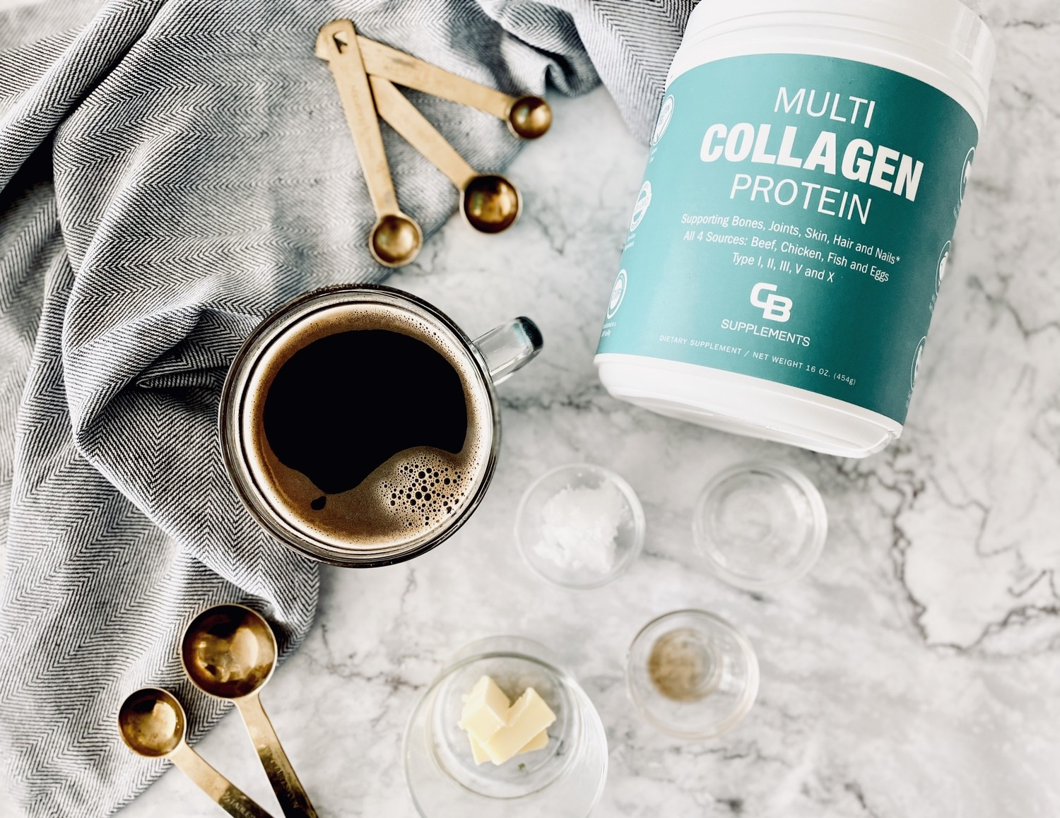 Collagen and Coffee Recipe Bulletproof Style