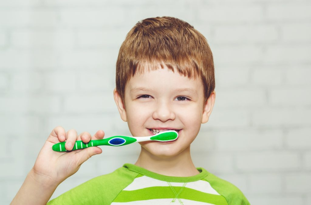 Collagen helps children with oral hygiene