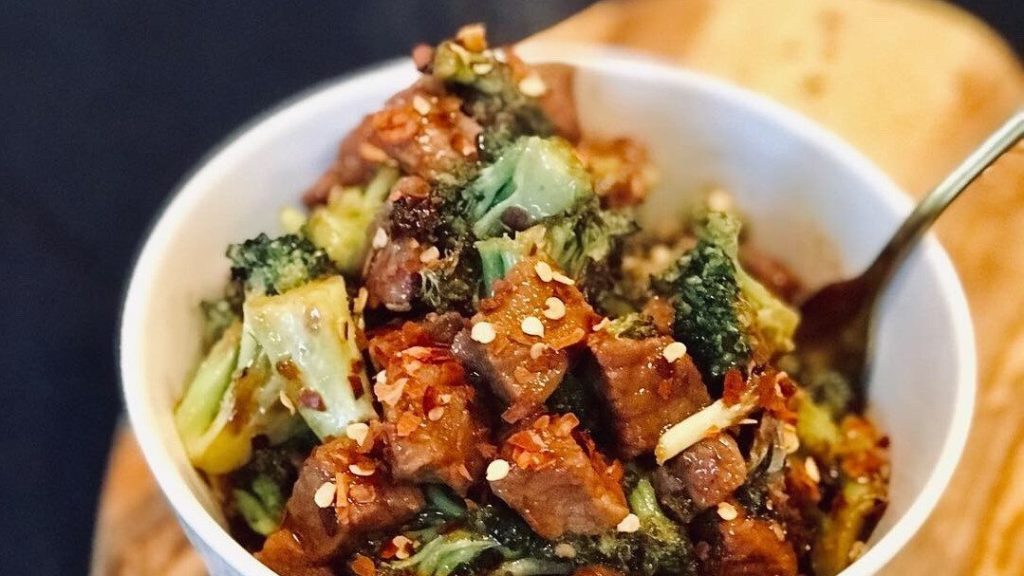 Collagen Mongolian Beef and Broccoli Recipe