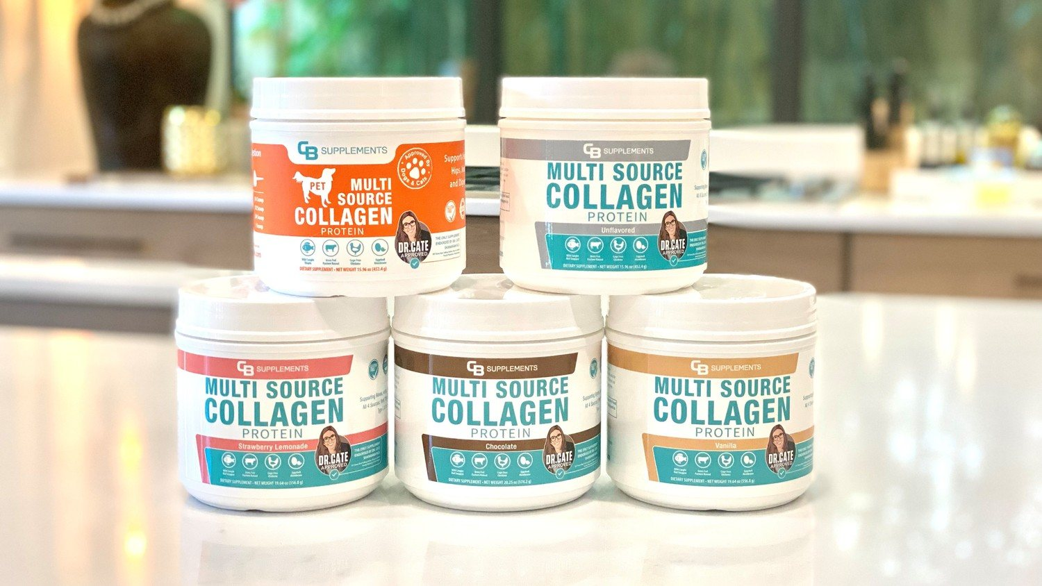 Multi Collagen Every Day lineup