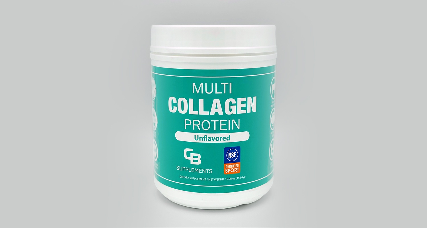 Unflavored Multi Collagen Protein Powder NSF Certified